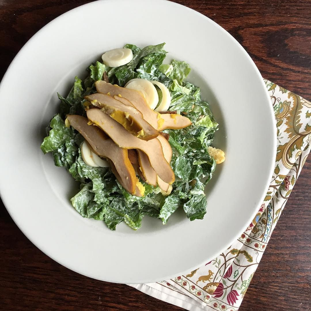 Vegan Classic Caesar Salad