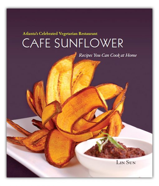 Cafe Sunflower Vegetarian Cookbook Cover