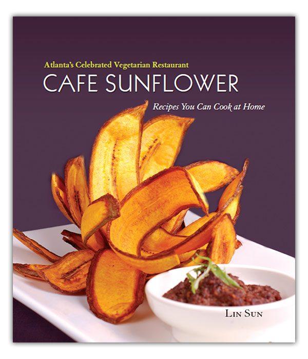 Cafe Sunflower Vegetarian Cookbook Cover
