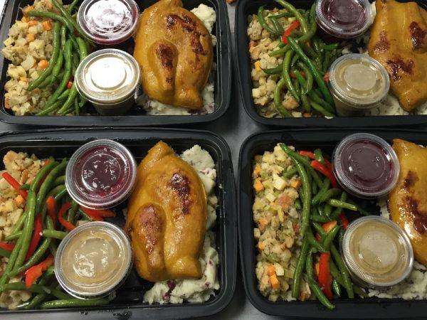 Vegan Thanksgiving Meal for One