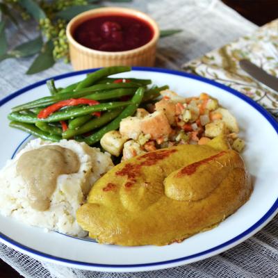 Cafe Sunflower Vegan Thanksgiving Meal