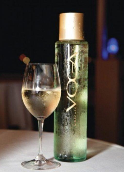 Bottle of Voga Moscato