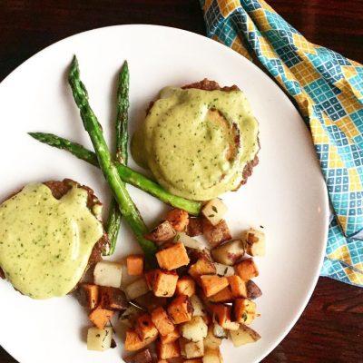 Vegan Brunch Tofu Benedict